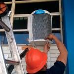 Instalação de ar condicionado carrier