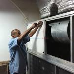 Manutenção de fan coil