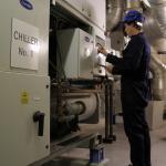 Manutenção chiller carrier