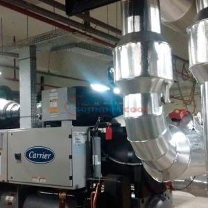Instalação e manutenção em chillers industriais