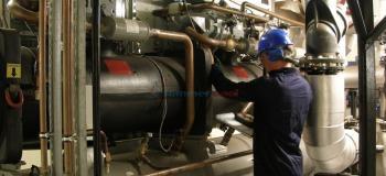 Manutenção preventiva de chiller